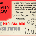 Queen Creek Family Lawyers, Queen Creek Family Law Attorney infographic
