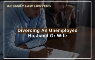 Divorcing An Unemployed Husband Or Wife